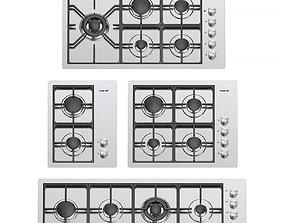 3D Foster gas cooktops