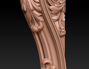 3D print model decorative bracket
