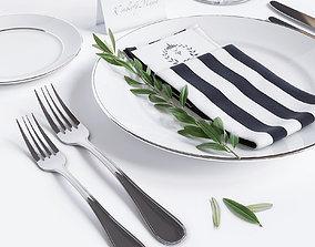 tableware 3D model Tableware