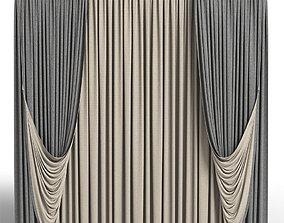 curtains 3D architectural