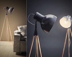 Industry Floor Lamp 3D