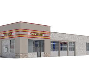 Retail-009-Auto Service 3D