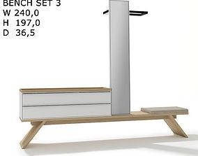 3D Schonbuch Bench series set