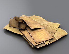 Cardboard Junk 3D model