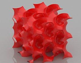 Gyroid Cube 3D print model