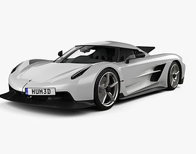 Koenigsegg Jesko Absolut 2020 3D model swedish