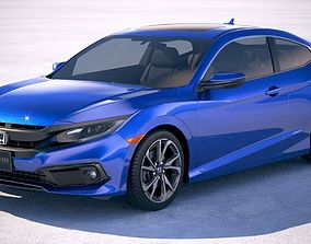 3D Honda Civic Coupe 2019