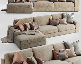 3D Noelle corner sofa