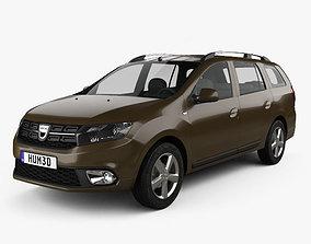 3D model Dacia Logan MCV 2016
