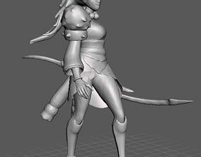 Bloodmoon Diana 3D Model