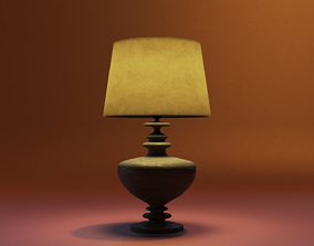 Lampshade 3D asset realtime