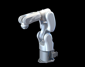 factory industrial robot arms 3 3D
