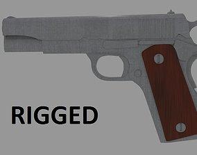 Colt 1911S 3D model