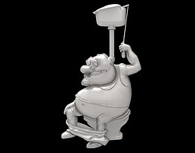 Constipation 3d stl models for artcam and aspire
