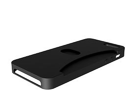 Case Iphone SE-Bank Card Compartment 3D printable model