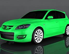 2009 Mazda 3 3D model