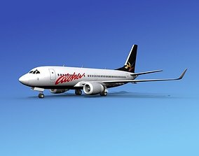 3D model Boeing 737-700ER Aloha