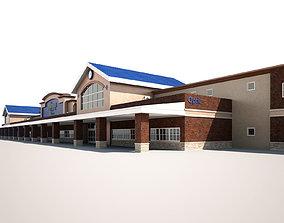 Super Market Building 3D model