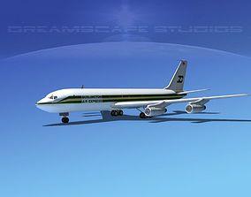 Boeing 707 BAX Global 3D model