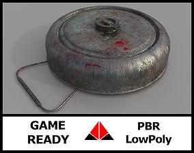 3D model Landmine