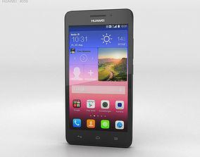 3D model Huawei Ascend G620S Black