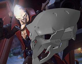 3D printable model Overwatch Reaper Dracula Cosplay Mask