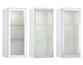 3D model Glass cabinets