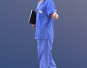Andy 10492 - Walking Doctor 3D asset