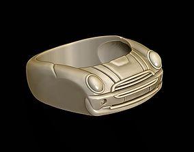 3D printable model car ring 2
