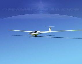 Glaser Dirks DG200 15Mtr Sailplane V10 3D model