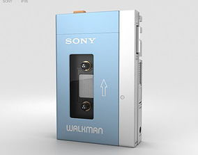 3D model Sony Walkman TPS-L2