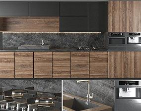 kitchen Kitchen Set 02 3D model