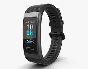 Huawei Band 3 Pro Black 3D model