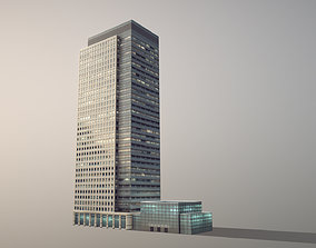 London 40 Bank Street 3D model
