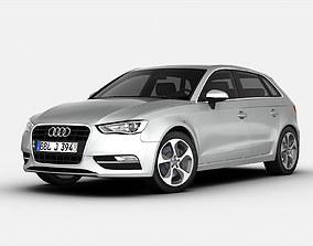 3D Audi A3 Sportback 2013