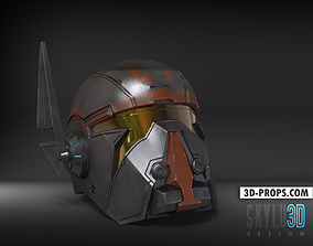 3D print model Shae Vizsla Helmet SWTOR