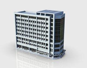 3D asset Apartment Building pack