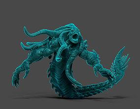 3D printable model Deep Sea Terror - 65mm