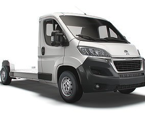 3D model Peugeot Boxer 3540 L4 platform cab 2020