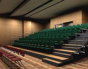 theater retractable seats 3D model