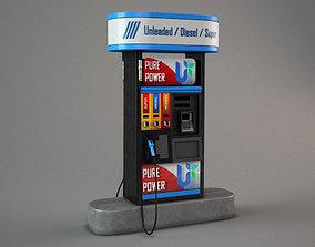 Gas Pomp fueloil 3D model