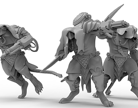 3D printable model Cheese Stealer Cult - Vermin Ogres
