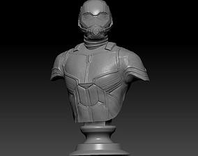 3D printable model Ant-Man Bust