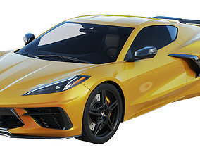 Chevrolet Corvette C8 2020 Stingray 3D