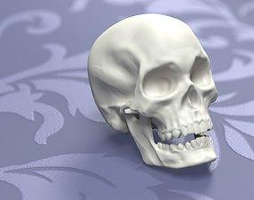 male Printable Skull