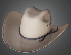 Texas Cowboy Hat - HAT - PBR Game Ready 3D asset