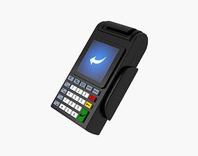 market Credit Card Terminal 3D
