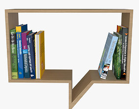 Bookshelf Comment 3D