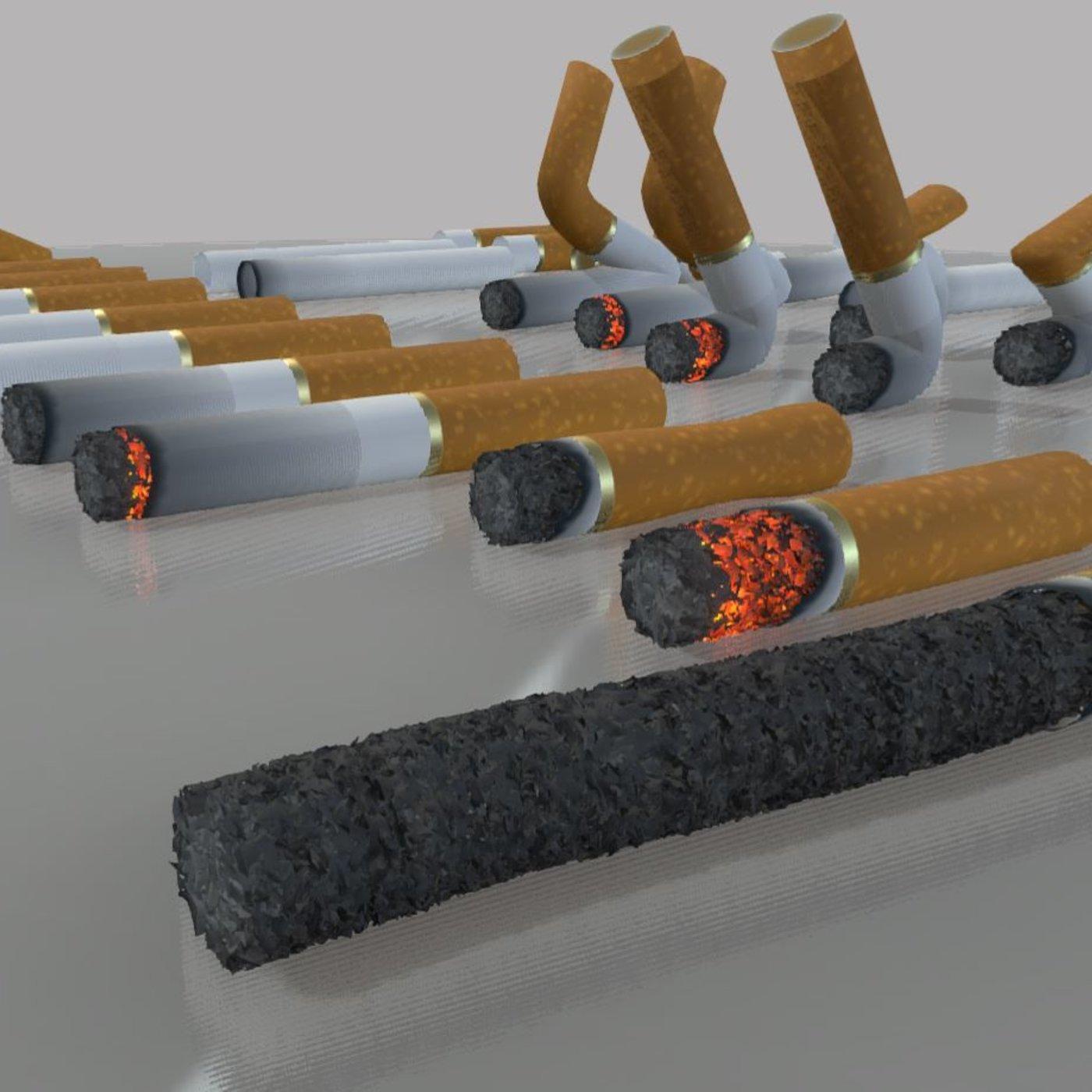 Modular Cigarettes (High-Poly)