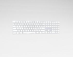Cartoon Keyboard v1 001 3D asset